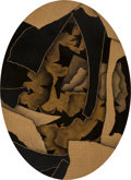 Fine Art - Painting, American:Contemporary   (1950 to present)  , James Sicner (American, 1940-1992)Ovals...