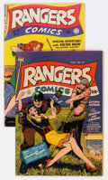 Golden Age (1938-1955):War, Rangers Comics #13 and 55 Group (Fiction House, 1943-50) Condition:Average VG.... (Total: 2 Comic Books)