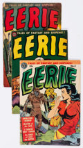 Golden Age (1938-1955):Horror, Eerie #5, 15, and 17 Group (Avon, 1952-54).... (Total: 3 Comic Books)