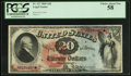 Large Size:Legal Tender Notes, Fr. 127 $20 1869 Legal Tender PCGS Choice About New 58.. ...