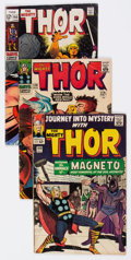 Golden Age (1938-1955):Horror, Journey Into Mystery/Thor Group of 5 (Marvel, 1964-83) Condition:Average VG.... (Total: 5 Comic Books)