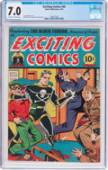 Golden Age (1938-1955):Superhero, Exciting Comics #46 (Nedor, 1946) CGC FN/VF 7.0 Off-white to white pages....