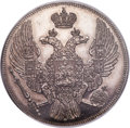 Russia, Russia: Nicholas I platinum 12 Roubles 1833-CПБ MS64 ProoflikeNGC,...