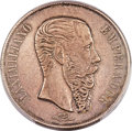 """Mexico, Mexico: Maximilian silver """"Small Letters"""" Specimen Pattern Peso1866-MoXF Details (Cleaning) PCGS,..."""
