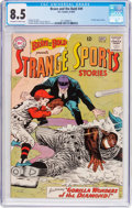 Silver Age (1956-1969):Adventure, The Brave and the Bold #49 Strange Sports Stories (DC, 1963) CGC VF+ 8.5 Off-white to white pages....