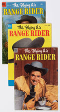 Golden Age (1938-1955):Western, The Flying A's Range Rider Group of 16 (Dell, 1953-54) Con...