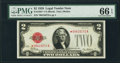 Small Size:Legal Tender Notes, Fr. 1501* $2 1928 Legal Tender Note. PMG Gem Uncirculated 66 EPQ.. ...