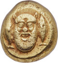 Ancients:Greek, Ancients: MYSIA. Cyzicus. Ca. 500-450 BC. EL stater (17mm, 15.96gm). NGC Choice XF 4/5 - 4/5....