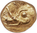 Ancients:Greek, Ancients: IONIA. Uncertain city. Ca. 6th century BC. EL 24th stater or myshemihecte (6mm, 0.69 gm). NGC MS 5/5 - 5/5. ...