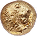 Ancients:Greek, Ancients: IONIA. Miletus. Ca. 600-550 BC. EL 12th stater orhemihecte (6mm, 1.09 gm). NGC MS 4/5 - 4/5. ...