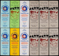 Football Collectibles:Tickets, Super Bowl XIII & XV Party Pass Collection (18). ...