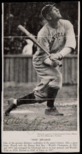 Baseball Collectibles:Photos, Tris Speaker Signed Newspaper Cut Photograph. ...