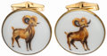 Miscellaneous Collectibles:General, Pair of Rams Cufflinks....