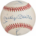 Baseball Collectibles:Balls, Mickey Mantle, Willie Mays, & Duke Snider Multi-SignedBaseball. ...