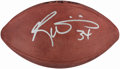 Football Collectibles:Balls, Ricky Williams Signed Football....
