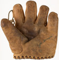 Baseball Collectibles:Others, Joe DiMaggio Signed Draper & Maynard Model G17 Glove. ...