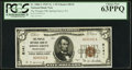 National Bank Notes:Pennsylvania, Spring Grove, PA - $5 1929 Ty. 1 The Peoples NB Ch. # 8141. ...