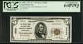 National Bank Notes:Pennsylvania, Spring Grove, PA - $5 1929 Ty. 1 The Spring Grove NB Ch. # 6536....