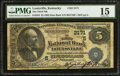 National Bank Notes:Kentucky, Louisville, KY - $5 1882 Date Back Fr. 534 The Third NB Ch. #(S)2171. ...