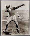 Football Collectibles:Photos, Paul Hornung and Lambeau Field Photographs Lot of 2....