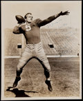 Football Collectibles:Photos, Paul Hornung Signed Vintage Photograph....