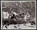 Football Collectibles:Photos, 1967 Bart Starr Wire Photograph - The Ice Bowl....