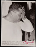 Football Collectibles:Photos, 1962 Vince Lombardi Wire Photograph....