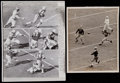 Football Collectibles:Balls, 1939-67 Green Bay Packers Wire Photographs (Lot of 4)....