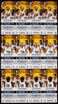 Basketball Collectibles:Programs, 2016 NBA Finals Ticket Sheets (3) - Game 1, 2, 5 - ClevelandCavaliers First Championship! ...