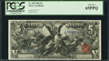 Large Size:Silver Certificates, Fr. 269 $5 1896 Silver Certificate PCGS Gem New 65PPQ.. ...