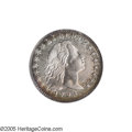Early Half Dimes: , 1795 H10C --Improperly Cleaned--NCS. AU Details. V-5, LM-8, R.3.Although this sharp Flowing Hair Half Dime is unnaturally b...