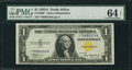 Small Size:World War II Emergency Notes, Fr. 2306* $1 1935A North Africa Silver Certificate. PMG ChoiceUncirculated 64 EPQ.. ...