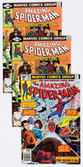 Modern Age (1980-Present):Superhero, The Amazing Spider-Man Group of 72 (Marvel, 1979-95) Condition:Average VF/NM.... (Total: 72 Comic Books)