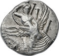 Ancients:Greek, Ancients: CRETE. Gortyna. Ca. 330-270 BC. AR stater (24mm, 11.47gm, 4h). NGC AU 4/5 - 4/5, overstruck....