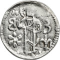 Ancients:Byzantine, Ancients: Andronicus III (1328-1341). AR basilikon (21mm, 1.20 gm,6h). NGC Choice XF 4/5 - 4/5....