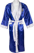 Boxing Collectibles:Autographs, Circa 1990's Riddick Bowe Training Worn, Signed Robe....