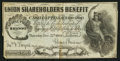 Miscellaneous:Other, Union Shareholders Benefit $1 Dec. 22, 1864 Lottery Ticket. ...