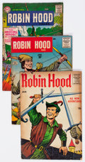 Silver Age (1956-1969):Adventure, Robin Hood-Related Group of 13 (Various Publishers, 1950s-60s) Condition: Average GD/VG.... (Total: 13 Comic Books)