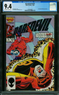 Modern Age (1980-Present):Superhero, Daredevil #237 (Marvel, 1986) CGC NM 9.4 OFF-WHITE TO WHITE pages.
