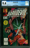 Modern Age (1980-Present):Superhero, Daredevil #260 (Marvel, 1988) CGC NM 9.4 OFF-WHITE TO WHITE pages.