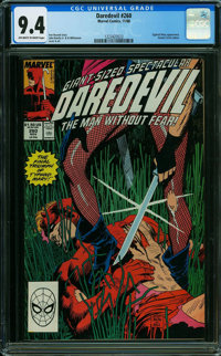 Daredevil #260 (Marvel, 1988) CGC NM 9.4 OFF-WHITE TO WHITE pages