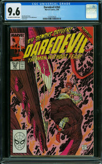 Daredevil #263 (Marvel, 1989) CGC NM+ 9.6 OFF-WHITE TO WHITE pages