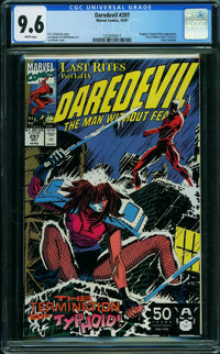Daredevil #297 (Marvel, 1991) CGC NM+ 9.6 WHITE pages