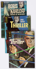 Silver Age (1956-1969):Horror, Boris Karloff Thriller/Tales of Mystery #1-97 Near-Complete Run Box Lot (Gold Key, 1962-80) Condition: Average VG/FN....