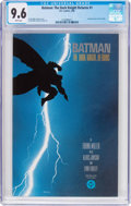 Modern Age (1980-Present):Superhero, Batman: The Dark Knight Returns #1 (DC, 1986) CGC NM+ 9.6 Whitepages....