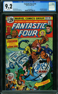 Fantastic Four #170 (Marvel, 1976) CGC NM- 9.2 WHITE pages
