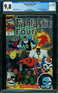 Fantastic Four #349 (Marvel) CGC NM/MT 9.8 WHITE pages