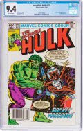Modern Age (1980-Present):Superhero, The Incredible Hulk #271 (Marvel, 1982) CGC NM 9.4 Off-white towhite pages....