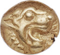 Ancients:Greek, Ancients: IONIA. Uncertain city. Ca. 600-550 BC. EL 12th stater or hemihecte (8mm, 1.31 gm). NGC AU ★ 5/5 - 5/5....