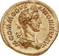 Ancients:Roman Imperial, Ancients: Commodus (AD 177-192). AV aureus (21mm, 7.14 gm, 6h). NGC Gem MS 5/5 - 5/5....